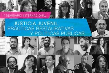 Participamos del primer Seminario Internacional de Justicia Juvenil